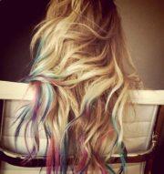 dip-dye hair coloring tutorial