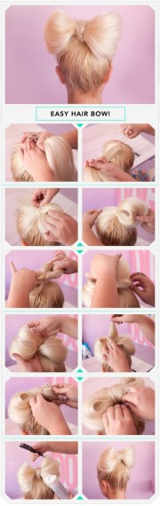 """adorable """"bow"""" hairstyle 've"""