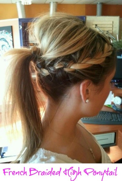 Step by step hairstyle instructions