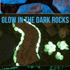 glow in the dark diy pavement
