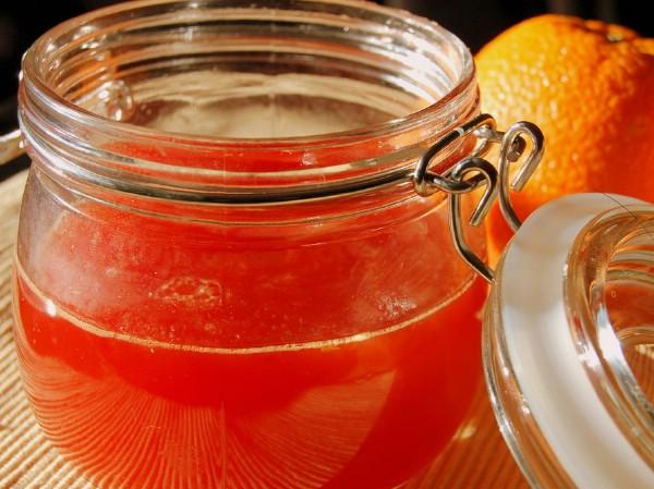 Bitter orange mimosa jam finished