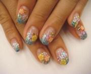 trendy gel nail design