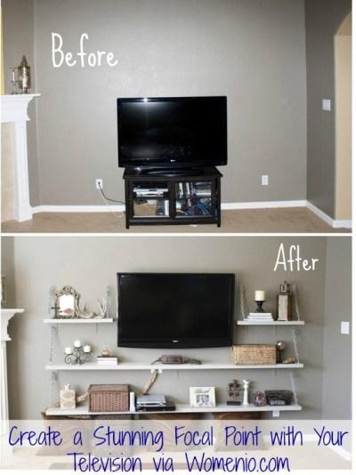Beautiful tv decor idea step by step