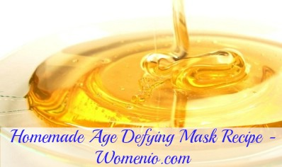 Homemade age defying mask recipe