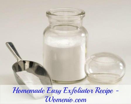 Homemade Exfoliator recipe