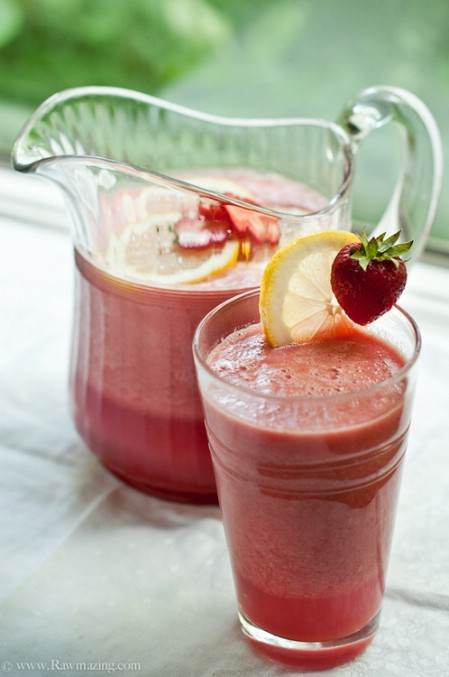 Fruit outmeal smoothie