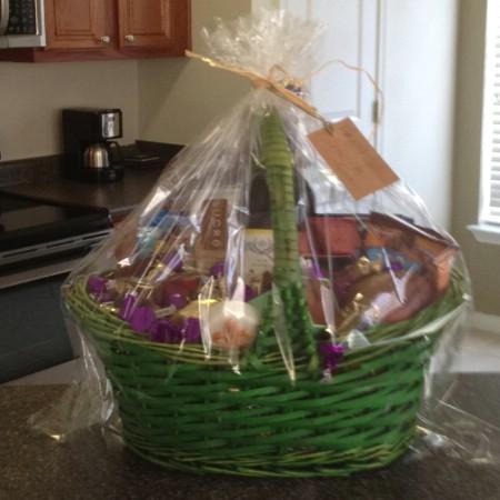 Mothers Easter basket