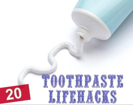 20 uncommon toothpaste uses