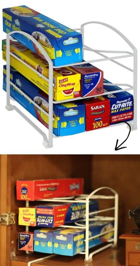 Kitchen Wrap Stand