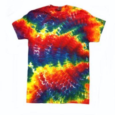 hippie vibe tie dye shirt