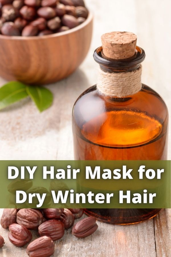 DIY Hair Mask for Dry Winter Hair