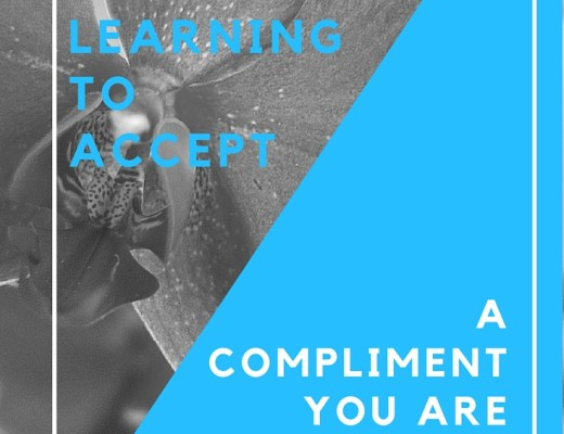 learning to accept a compliment