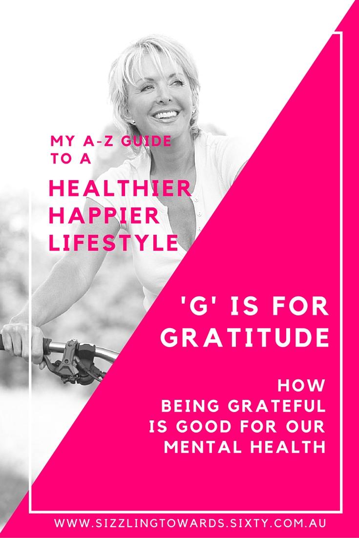 'G' is for Gratitude