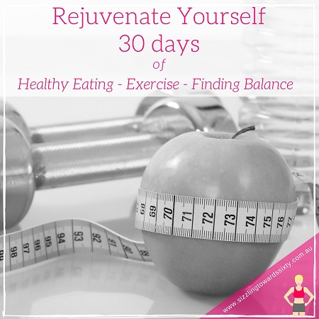rejuvenate yourself with healthy eating, exercise and balance