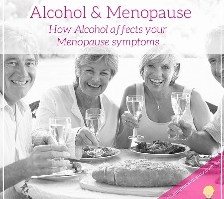 how alcohol affects menopause symptoms