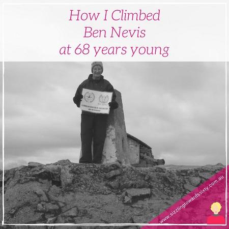 How I climbed Ben Nevis at 68