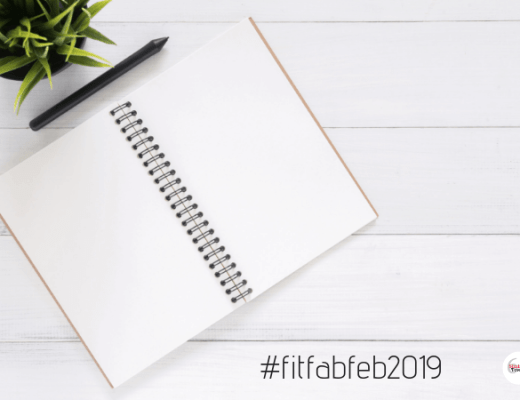 #FitFabFeb2019 - Creating your plan