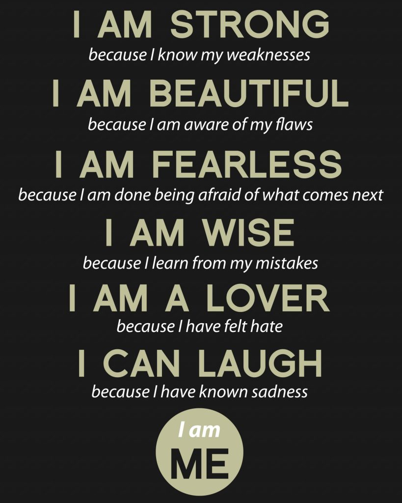 7 days of 'I AM' Affirmations