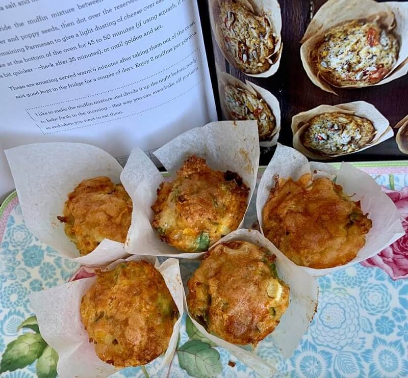 Sweet Potato Muffins healthy and delicious
