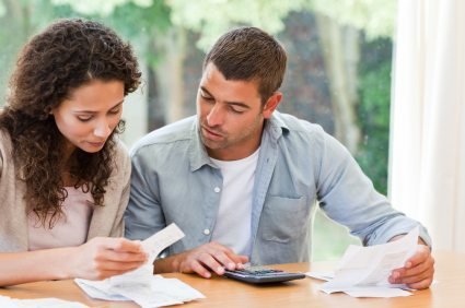 J is for Joining Finances with Your Partner.