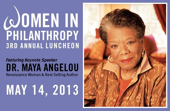 United Way Women in Philanthropy Luncheon with Dr. Maya Angelou