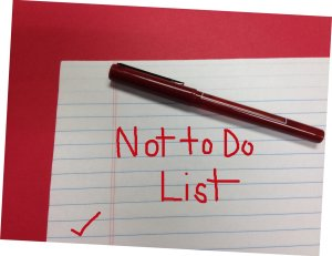 N is for What NOT To Do During Your Divorce.