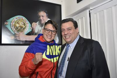 Alejandra Jimenez Defending her WBC Championship on April 1st