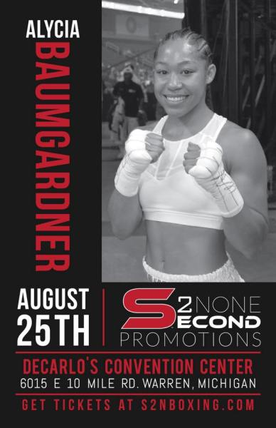 Alycia Baumgardner Ready to Progress up the Super Featherweight Rankings with Match Tonight in Michigan