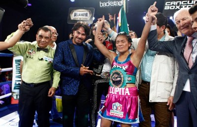 Guadalupe Martinez to Defend her WBC Title Saturday against Carlota Santos