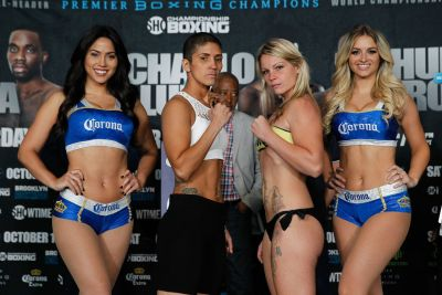 Cindy Serrano and Edina Kiss Ready for 8 Rounds of Super Featherweight Action on Saturday