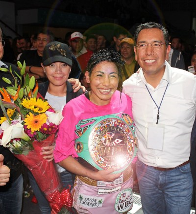Yessica Chavez Claims the WBC Diamond Flyweight Championship