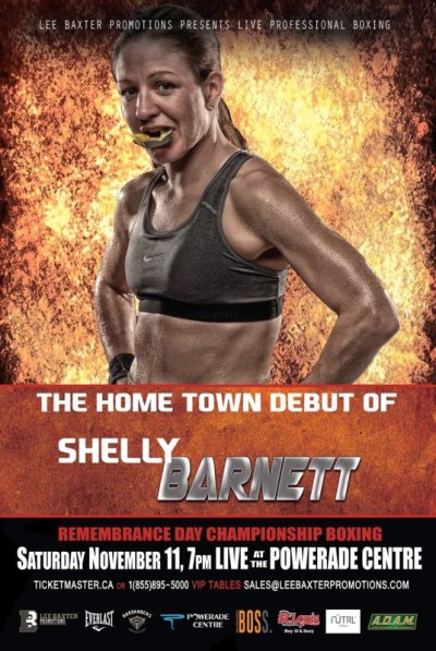 Shelly Barnett is Returning Home to Collect Win Number 2 on Saturday
