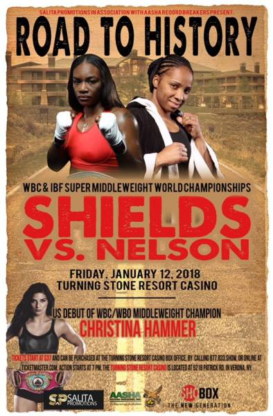 Christina Hammer to Make her US Debut on January 12th as Added Feature to Shields vs. Nelson