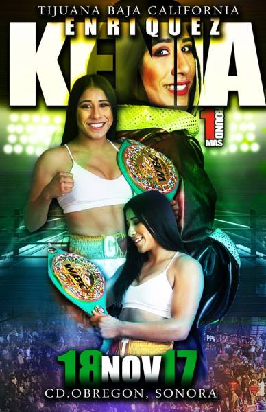 Kenia Enriquez Has a Tough Test Saturday in her WBC Defense Against Jessica Nery Plata