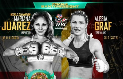 Mariana Juarez to Make Second WBC Title Defense With Alesia Graf on November 11