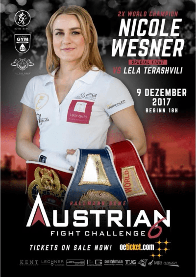 Nicole Wesner Returns to Action on December 9th