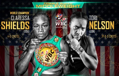 Undefeateds Claressa Shields and Tori Nelson Anxious for January 12th Championship Bout