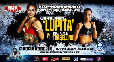 WBC Champion Guadalupe Martinez Defends her Crown Against Irma Garcia on February 3rd