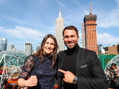 "Katie Taylor, Amped for April 28th in Brooklyn: ""I want to have all the belts by the end of the year"""