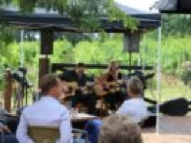 Enjoy a jazz session on the deck