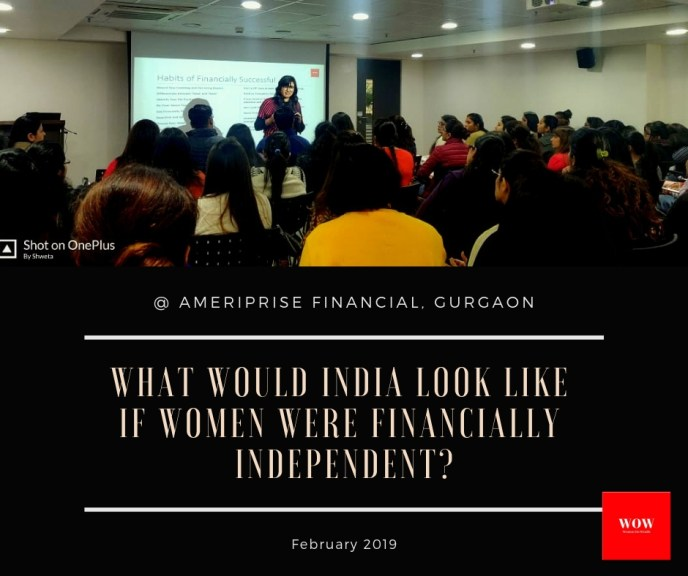 Financial Independence opens a world of opportunities for women.