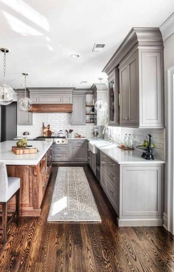 30 White Kitchen Design İdeas Modern Photos - Women World Blog