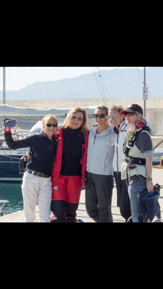 Team Fearless alla Women's Sailing Cup 2019.