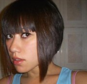 asian women hairstyle with bob