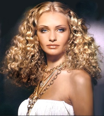 Long Hair Style With Big Perm Cut Women Hair Style