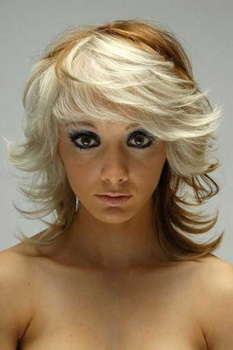 Extreme Layered Women Hairstyle Pic