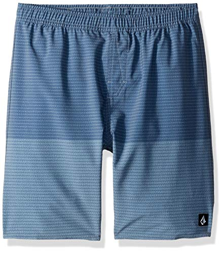 Volcom Little Boys Nothing More Volley 17 Elastic Waist Boardshort Youth
