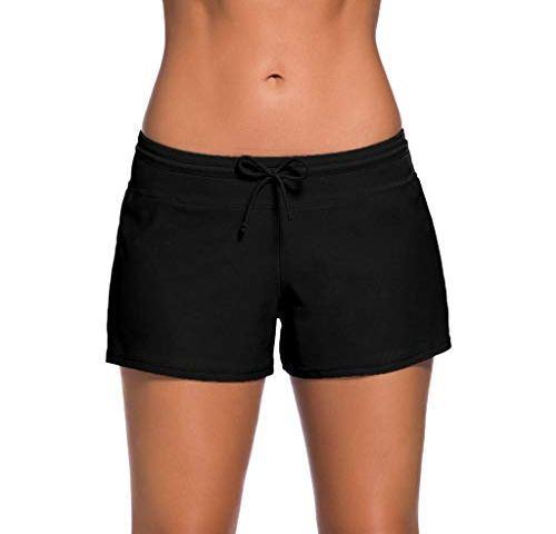 Vintage Body Glove Black Board Shorts Tag Size 13