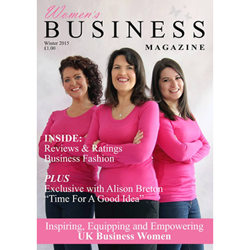 Women's Business Magazine Cover #1