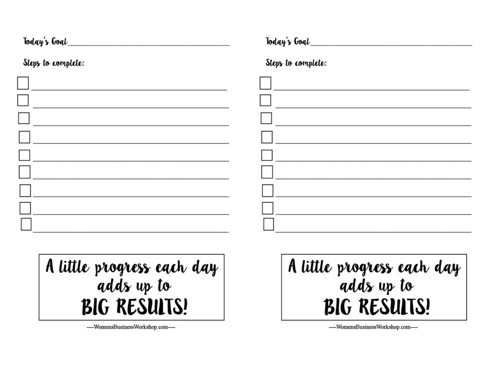 Family And Business Printables